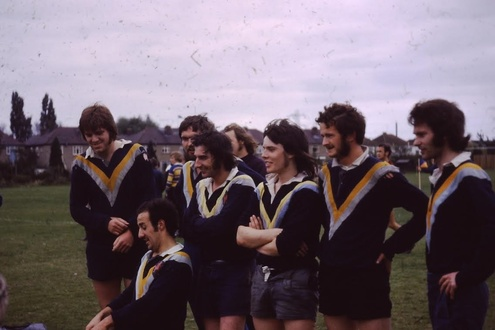 The first game ever played by Hackney RFC