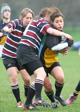 Hackney Ladies 41 - 0 Old Beccehamians Ladies