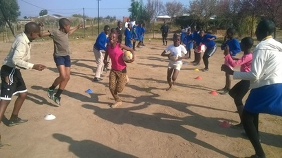 Hackney rugby supports Lesotho Rugby Academy