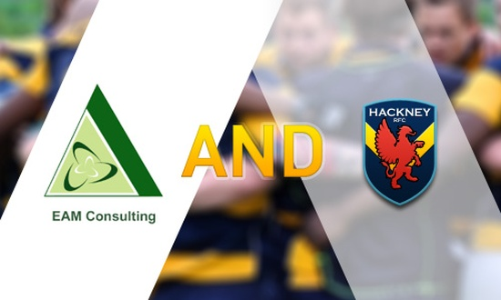 EAM Consulting joins Hackney RFC's Sponsors